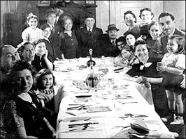 The Family Passover Seder, 1939