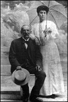 William and Julia Zeckendorf, c. 1900