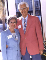 Leona G. and David A. Bloom, c. 1993